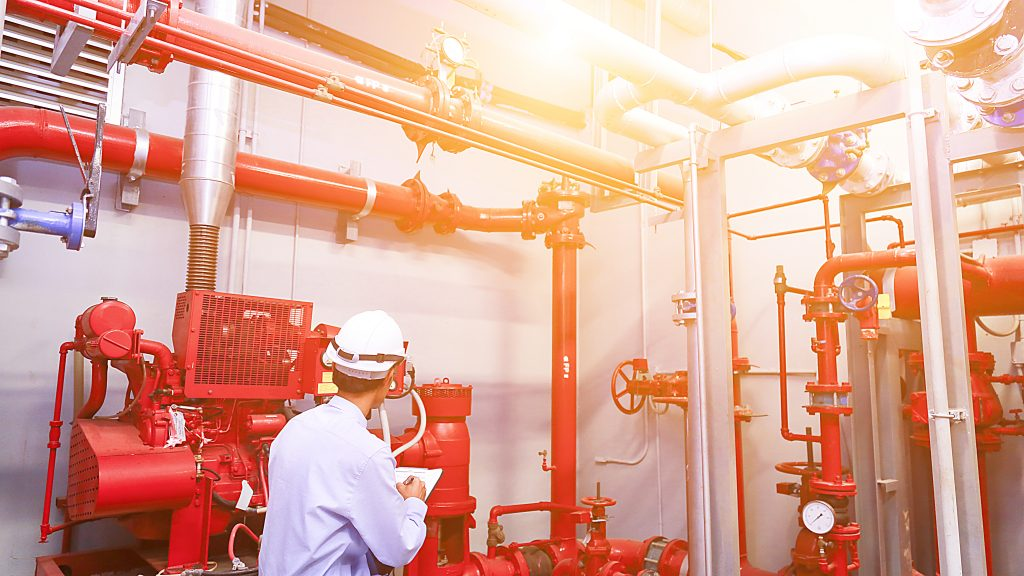 Fire Sprinklers Maintenance and Inspection in Edmonton Alberta